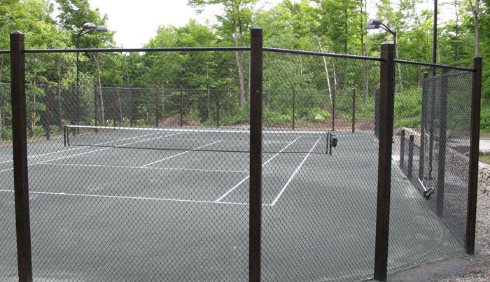 Types of fences for tennis courts  Teni Court ~ Cloture En Bois