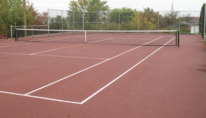 b m tennis les types de surfaces. Black Bedroom Furniture Sets. Home Design Ideas