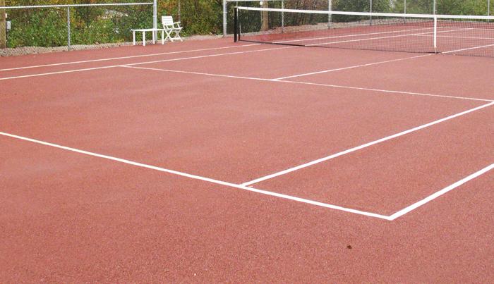 Types de surfaces terrains de tennis teni court for Revetement court de tennis