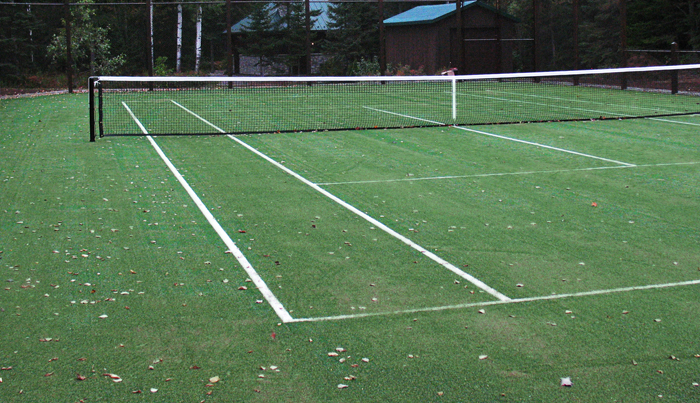 Types de surfaces, terrains de tennis - Teni Court